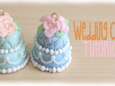 Elegant Spring Wedding Cake Polymer Clay Tutorial