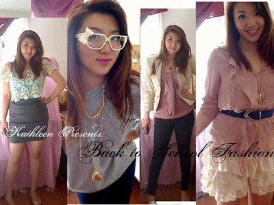 Fashion: Back to School Outfits 2011