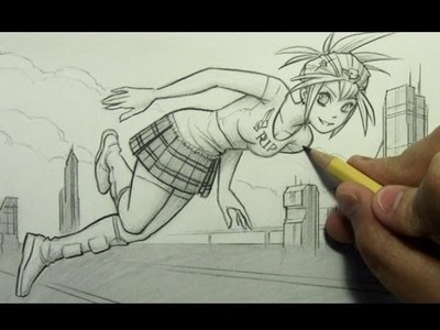 How to Draw a Pose Using Guidelines [HTD Video #90]