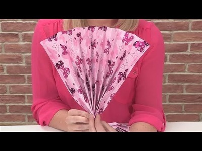 How To Make A Fan Out Of Paper