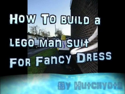 How to-Make a Lego Man Costume