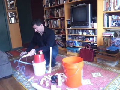 How to make a working mini-biodigester using parts from Home Depot