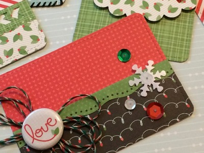 How to: Make Holiday Gift Card Pockets