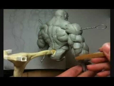 How To Sculpt Superhero Action Figure Anatomical Sculpting Tutorial Part 20 of X