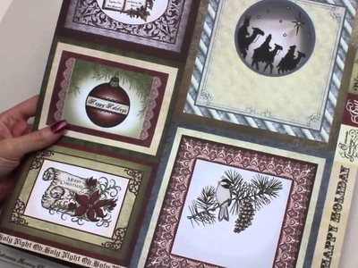 How to Use Heartfelt Creations Christmas Card Collection