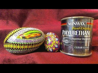 How to Varnish an Egg Shell for Pysanky or Batik Style Eggs
