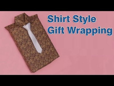 How To Wrap a Gift Creatively (shirts Style)