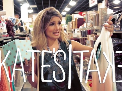 Kate's Take: Come Shop Interior Decor with Me!