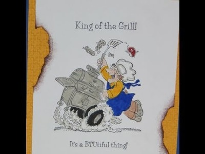 King of the Grill - Summer BBQ Card