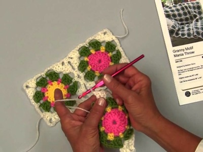 Learn To Join As You Go Granny Motifs with Red Heart Yarns