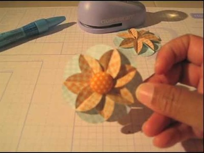 Making Paper Flowers with the CTMH Paper Punch