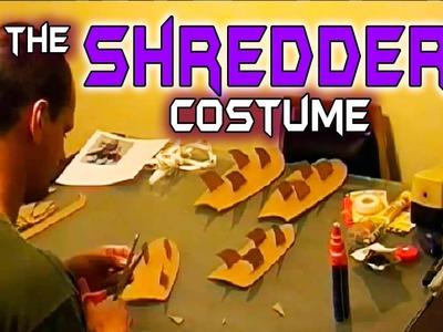 """Making """"The Shredder"""" Costume"""