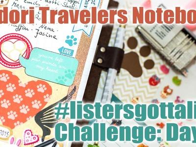 Midori Travelers Notebook - Listers gotta List - Day 4