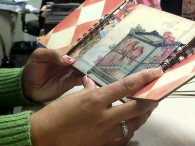 Mini Chipboard Flipbook Tutorial - Part 1 of 3