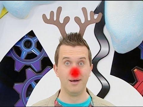 Mister Maker - How to Make a Christmas Reindeer Headband - Minute Make!