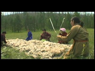 Mongolian Felt Making (higher quality)
