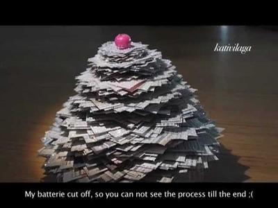 Paper Christmas Tree - Sapin de Noël en papier