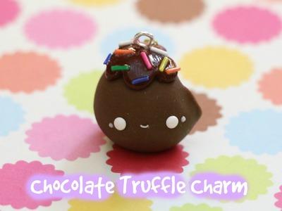 Polymer Clay Chocolate Truffle Charm Tutorial