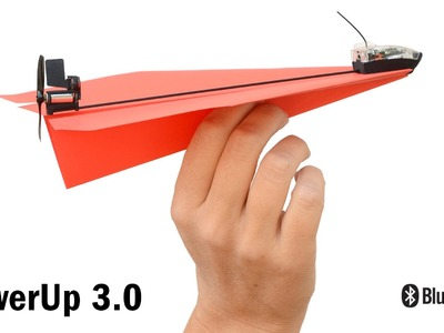 PowerUp 3.0 Smartphone Controlled Paper Airplane Kickstarter