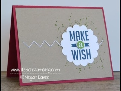 Quick, Clean and Simple Birthday Card Idea