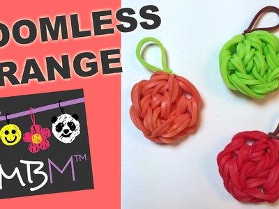Rainbow Loom Fruit Off the Loom - Orange, Apple, Pumpkin Charm
