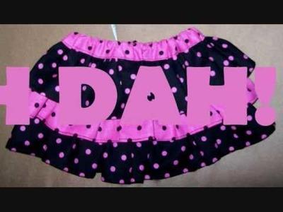 Ruffle skirt by: O.oVo.O