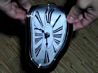 Salvador Dali Melting Clock Vintage Retro Home Interior