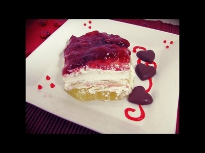 Strawberry Shortcake (No Bake Recipe)