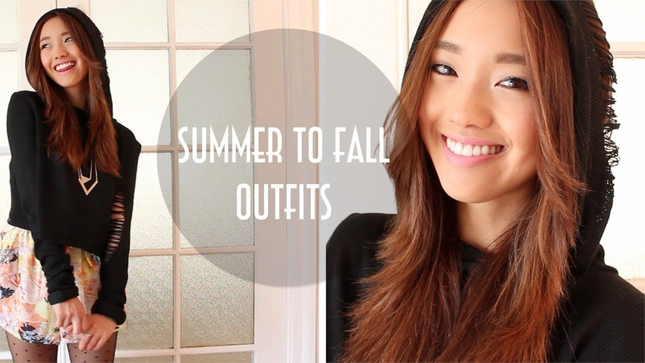 Summer to Fall Transition Outfits 2013