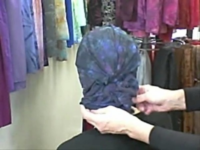 Tie a Woman's Turban with a Sash or Bow.wmv