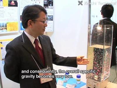 Toward an eco-friendly future with microbubble technology : Terasaka's Group