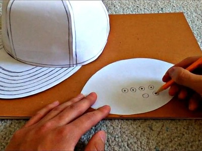 Tutorial on How to Make a Flat Brimmed Paper Hat (New Era Style)