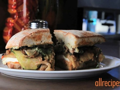 Vegetarian Recipes - How to Make a Veggie Sandwich