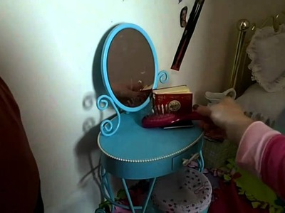 American Girl doll Extreme Home Makeover