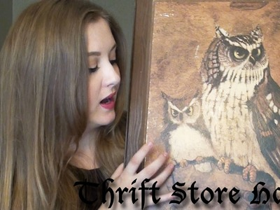 Another Thrift Store Haul! | Clothing and Apartment Decor!