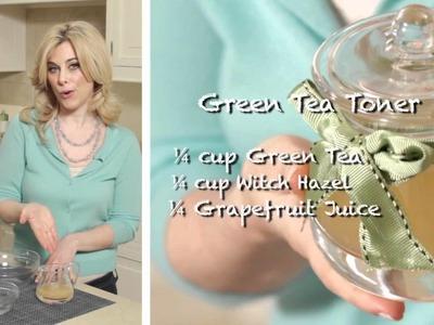 Bonding Over Beauty - DIY Green Tea Facial Toner