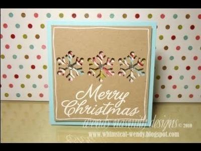 Christmas 2010 - No.3 Merry Christmas