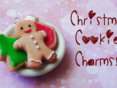 Christmas Cookies Charms - Polymer Clay Tutorial {Christmas Month #1}