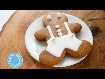Christmas Gingerbread Cookies with Dani Fiori | Holiday Décor | Martha Stewart