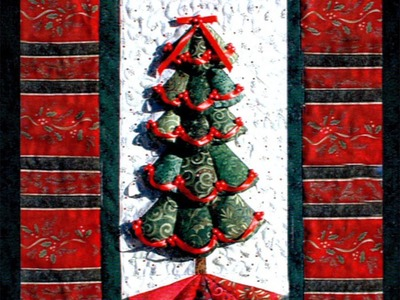Christmas Tree Quilt Part 1