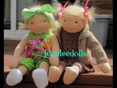 Cloth Doll Square Toe Free Tutorial pattern  link in description