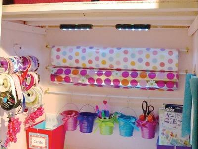 Create a Gift Closet on a Dime