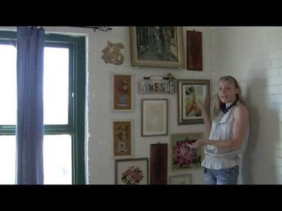 Decorating with thirft store art