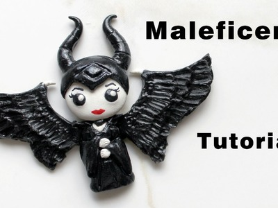Disney's Maleficent Movie Polymer Clay Tutorial