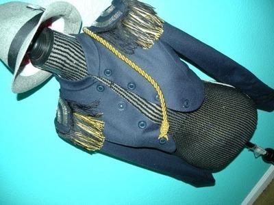 DIY Fringe Military Jacket: King of Pop Inspired