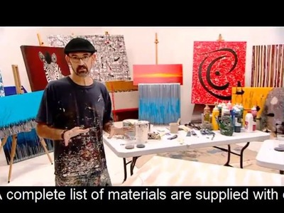 EASY ART LESSONS Learn to paint abstract art