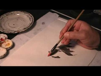 Goldfish - How to Make Use of Watermarks in Chinese Painting on Rice Paper
