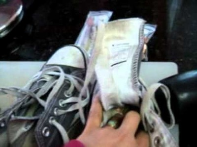 Grounding your shoes part 1