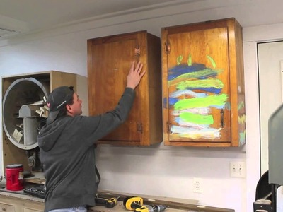Hang a few cabinets and clean up the shop by Jon Peters