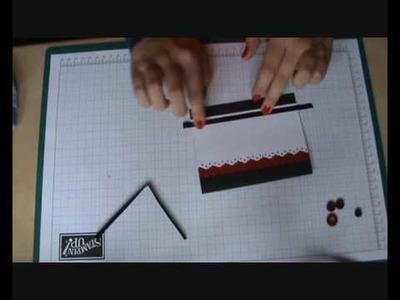 """Happy birthday"" (16) - Cardmaking tutorial"